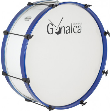 Bombo Charanga 60X18Cm Standar Ref. 04120 Gc0200 cover azul metalizado Gonalca Gonalca - 1