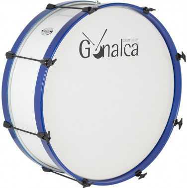 Bombo Charanga 60X23Cm Standar Ref. 04122 Gc0200 cover azul metalizado Gonalca Gonalca - 1