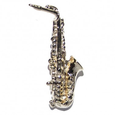 PIN SAXO ALTO GMUSICAL GOLD 18K G Musical - 1