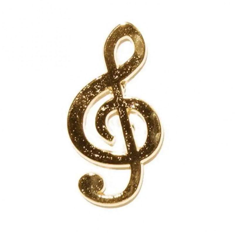 PIN CLAVE DE SOL GOLD 18K GMUSICAL G Musical - 1