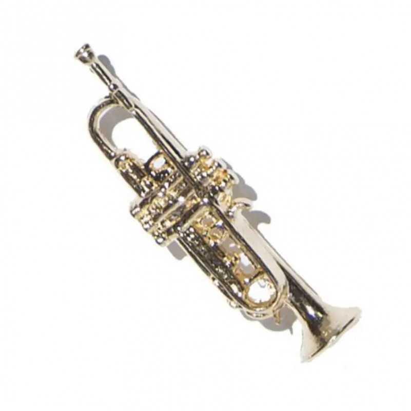 PIN TROMPETA GOLD 18K GMUSICAL G Musical - 1