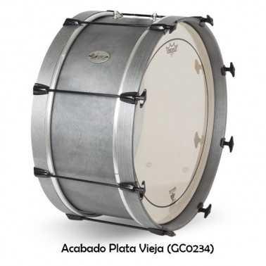 Bombo Charanga 50X22Cm Quadura Ref. 04145 Gc0234 plata vieja Gonalca Gonalca - 1