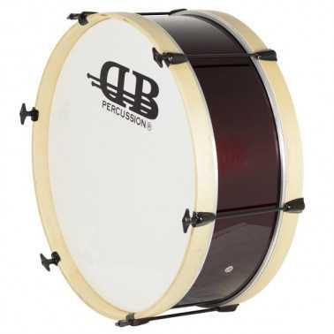Bombo Charanga 45X18Cm Db4100 Gc0090 cover rojo vino DB Percussion DB Percussion - 1