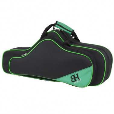 Estuche Saxo Alto Hb113 Forma Negro v.verde Ortola Ortola - 1