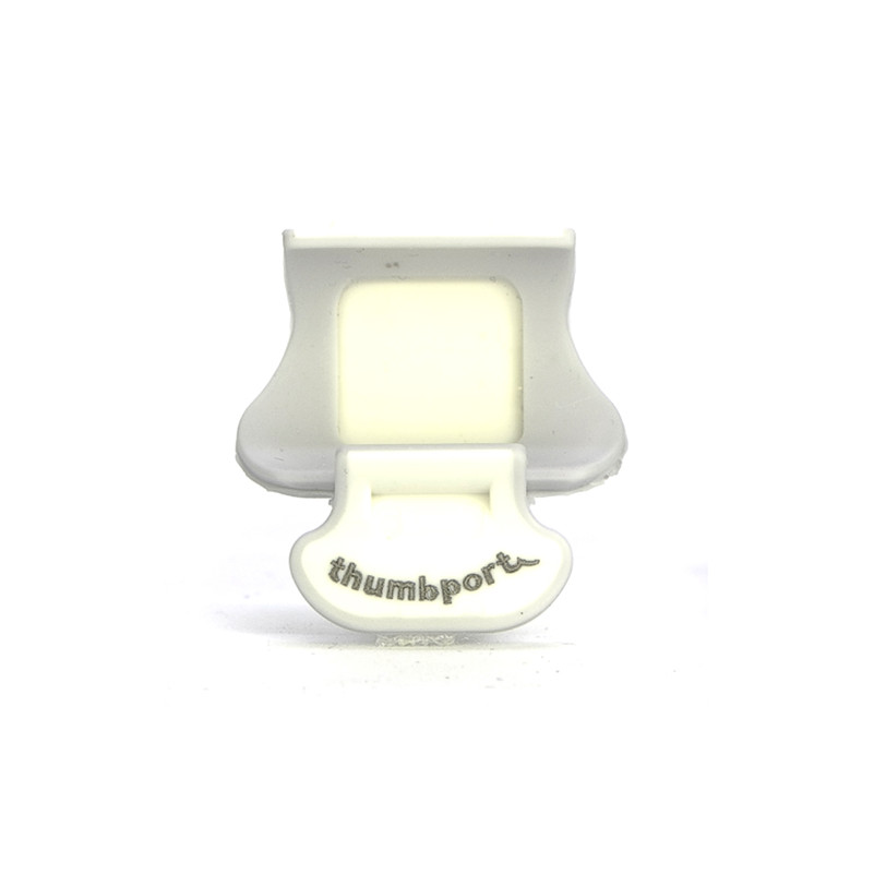 APOYO PULGAR FLAUTA THUMBPORT GRIS MARFIL Thumbport - 1