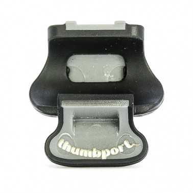 APOYO PULGAR FLAUTA THUMBPORT NEGRO GRIS Thumbport - 1