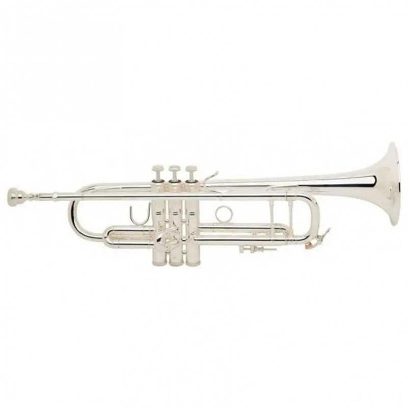 TROMPETA EN SIb BACH 180ML 72 / 25 PLATEADA Bach - 1
