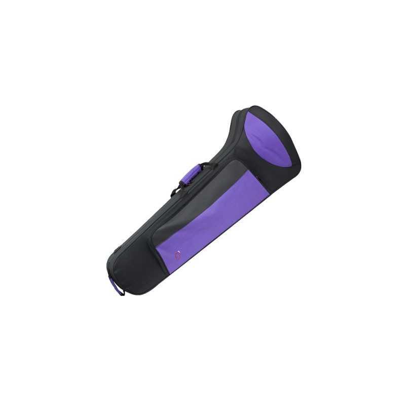 Estuche Trombon Bajo Ref. 8430 Fsh Negro morado Ortola Ortola - 1