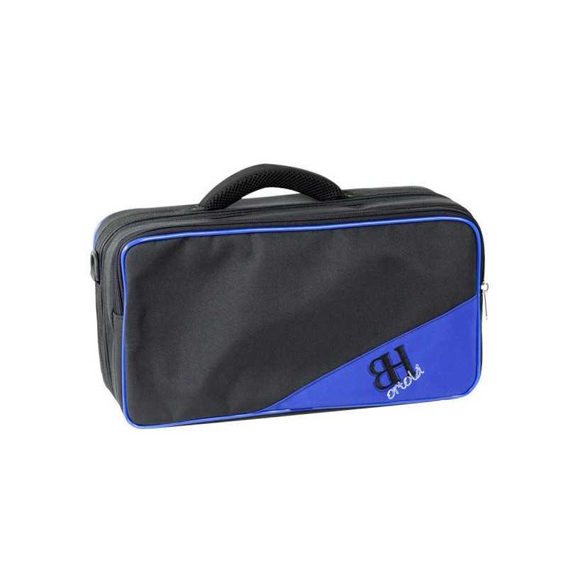 Estuche Clarinete Mib Requinto Ref. Hb198 Mochila Negro v.azul Ortola Ortola - 1