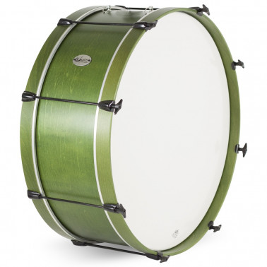 Bombo Charanga 66X23Cms Quadura Ref. 04113 Gc0213 verde esmeralda oscuro Gonalca Gonalca - 1