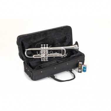TROMPETA BACH TR650 S PLATEADA SIb Bach - 3