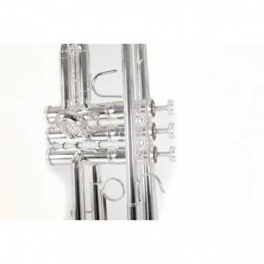 TROMPETA BACH TR650 S PLATEADA SIb Bach - 4