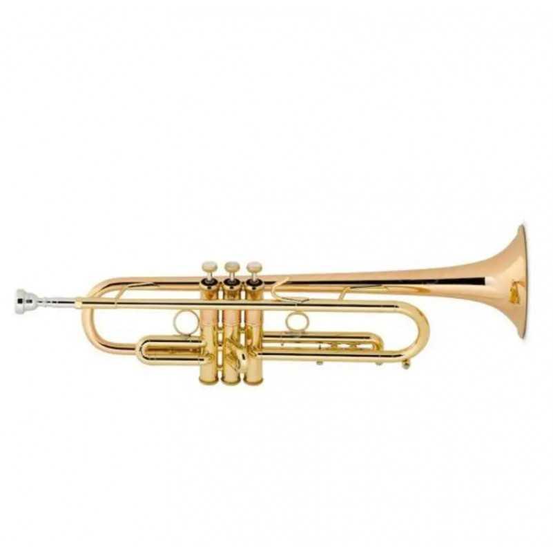 TROMPETA BACH LT190 L1B COMMERCIAL LACADA EN SIb Bach - 1