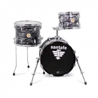 """Set Abd Cover Jazz Bd18""""-Tt12""""-Ft14"""" Gc0150 cover natural Santafe Drums Santafe Drums - 1"""