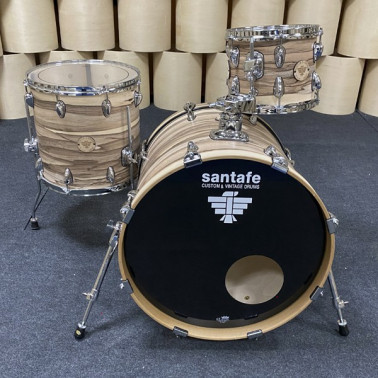 """Set Abd Cover Rock Bd22""""-Tt12""""-Ft16"""" Gc0150 cover natural Santafe Drums Santafe Drums - 2"""