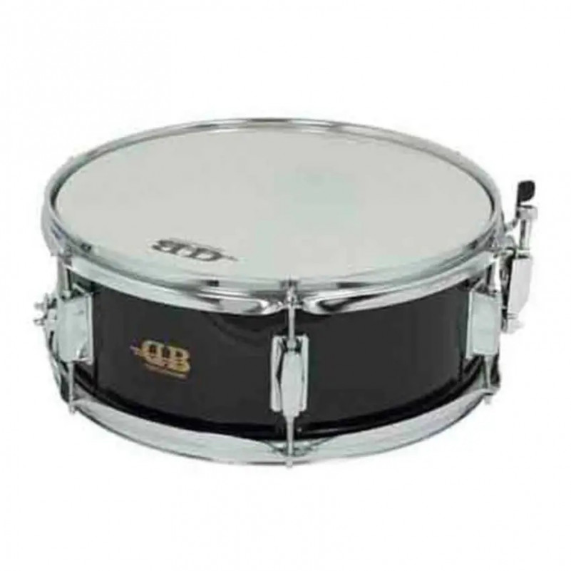 """CAJA DB 14""""x 5,5"""" 6 DIV DB0112 NEGRA DB Percussion - 1"""