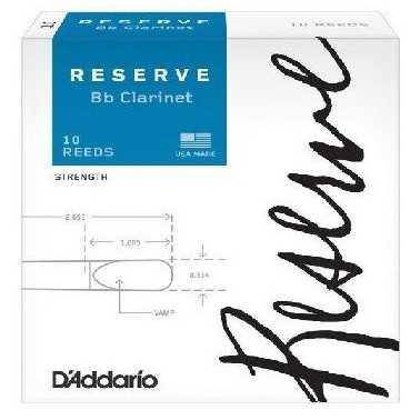 CAÑAS CLARINETE D'ADDARIO RESERVE 2.5 D'Addario - 1