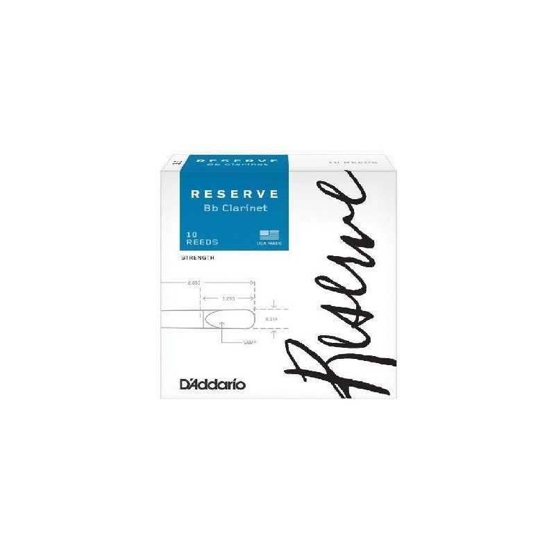 CAÑAS CLARINETE D'ADDARIO RESERVE 4 D'Addario - 1