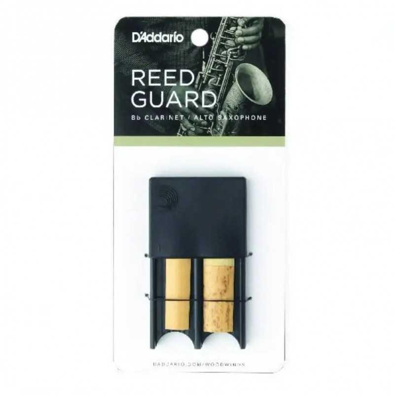 REED GUARD D&039;ADDARIO NEGRO 4 CAÑAS D'Addario - 1