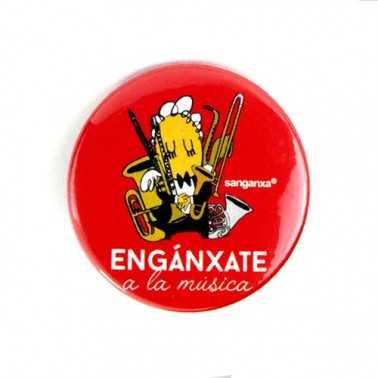 "CHAPA SANGANXA ""ENGANCHATE A LA MUSICA"" Sanganxa - 1"