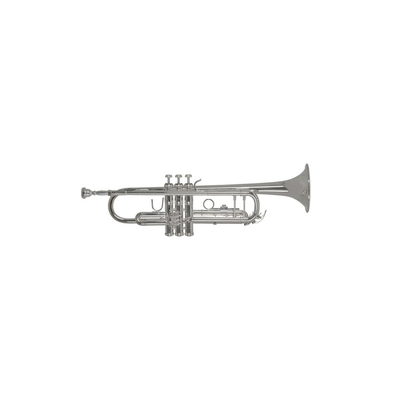 TROMPETA BACH TR501 S PLATEADA SIb Bach - 1