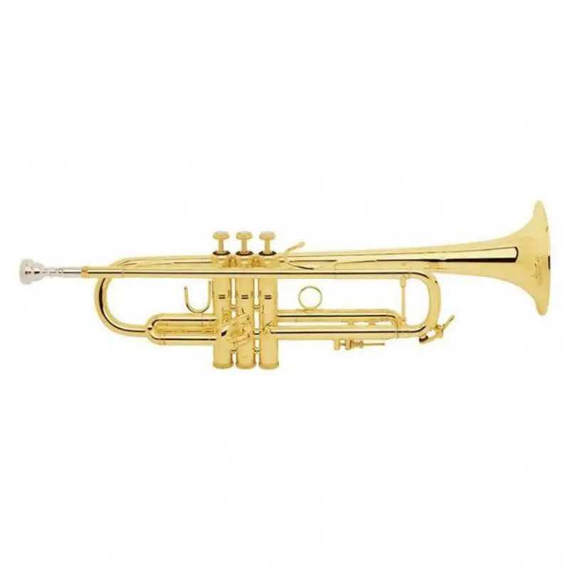 TROMPETA BACH LR180ML LACADA Sib Bach - 1