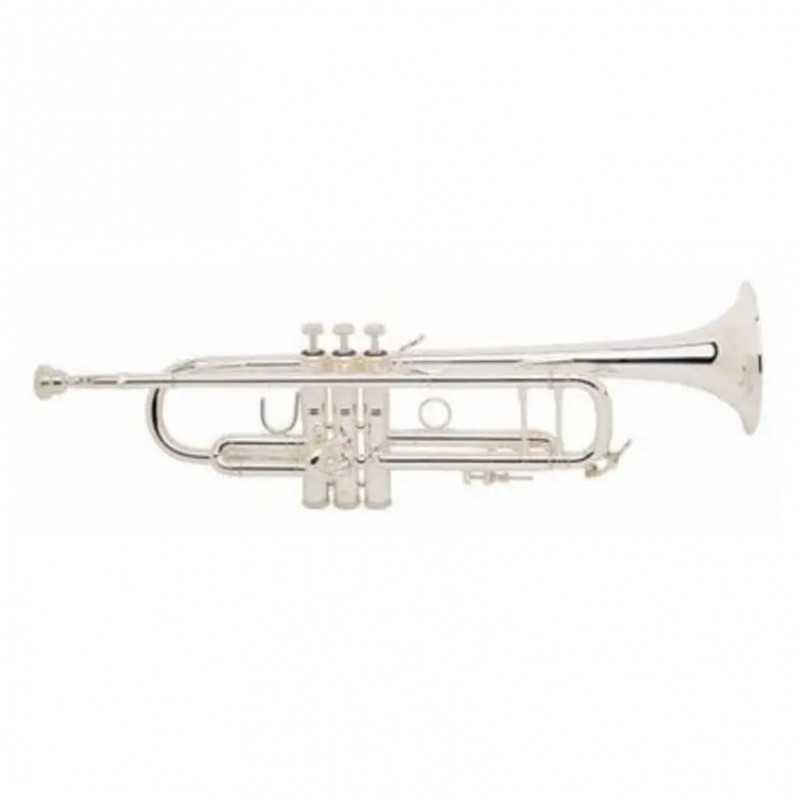 TROMPETA BACH 180ML 43/43 PLATEADA SIb Bach - 1
