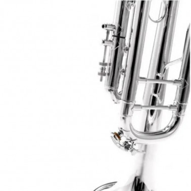 TROMPETA BACH 180ML 43/43 PLATEADA SIb Bach - 3
