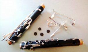 Enzapatillado clarinete tosca