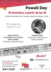 Flautas Powell Sanganxa Bcn