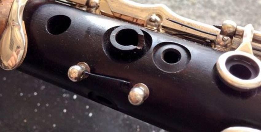 clarinete enzapatillado