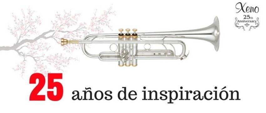 trompeta yamaha ytr8335 25th