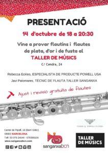 Flautas Powell Taller de Musics